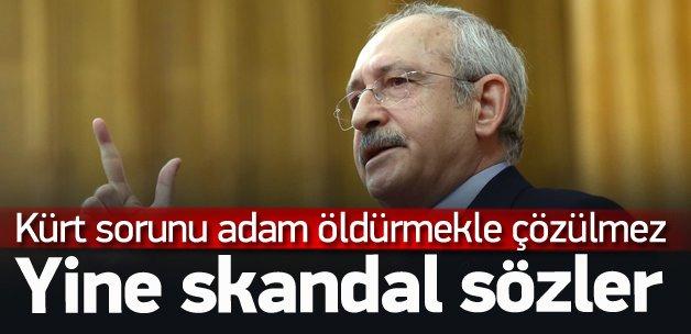 Kılıçdaroğlu'ndan tepki çeken Kürt sorunu çıkışı