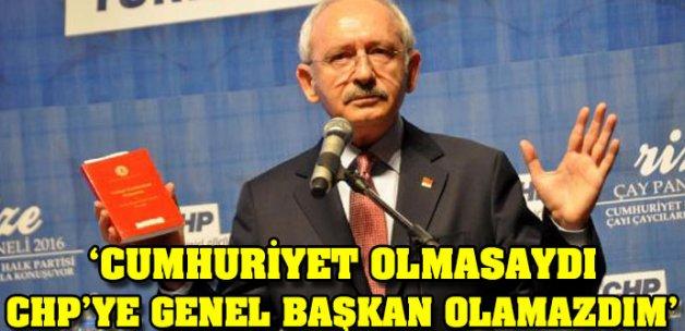 Kılıçdaroğlu Rize'de konuştu