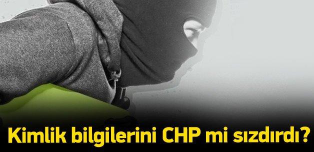 Kimlik skandalında perde aralanıyor: Köstebek CHP