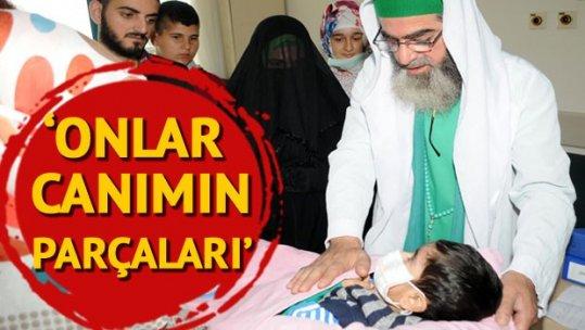 Kızı Rabia Babür'ün organlarının nakledildiği hastaları ziyaret etti: Onlar canımın parçaları