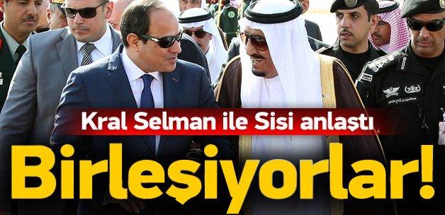 Kral Selman ve Sisi anlaştı! Kurulacak
