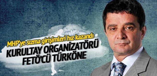 Kurultay organizatörü FETO'cü Türköne