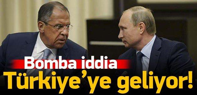 Lavrov Türkiye'ye geliyor!