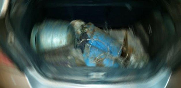 Mardin'de bomba yüklü araç bulundu