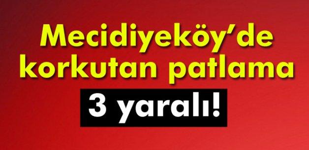 Mecidiyeköy'de alt geçitte patlama: 3 yaralı