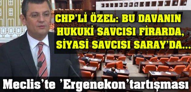 Meclis'te 'Ergenekon kararı' tartışması