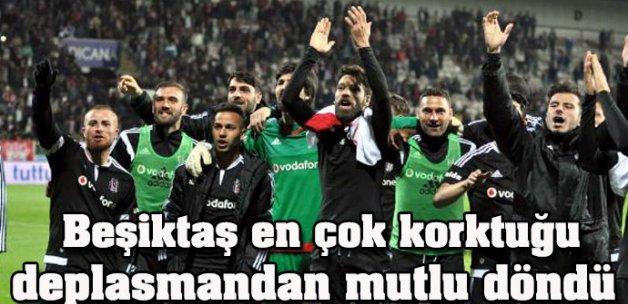 Medicana Sivasspor-Beşiktaş: 1-2