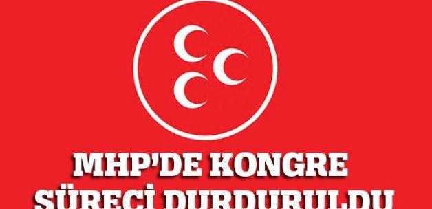 MHP'de kongre süreci durduruldu!