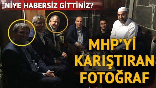 MHP yönetimi Halaçoğlu ve Özdağ'dan bu fotoğrafın savunmasını istedi