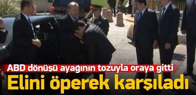Müstakbel damat Erdoğan'ı böyle karşıladı