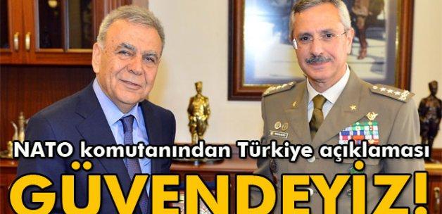 NATO komutanından 'Türkiye'de güvendeyiz' açıklaması