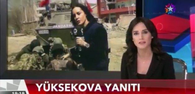 """Nazlı Çelik'in HDP'ye yanıtı: """"BURASI HOLLYWOOD FİLM SETİ DEĞİL YÜKSEKOVA"""""""