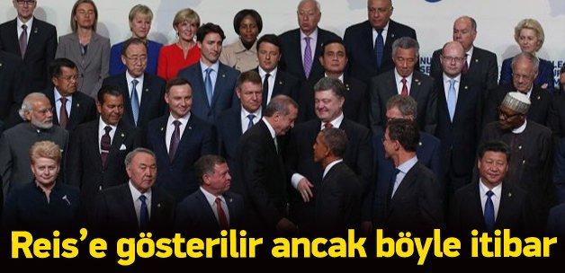 Nükleer Güvenlik Zirvesi açılışında Erdoğan farkı