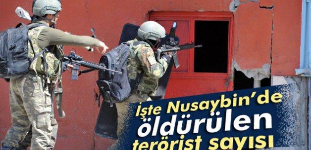 Nusaybin'de toplam 286 terörist öldürüldü
