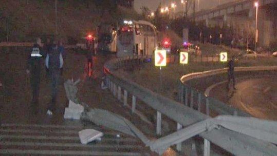 Otogar bağlantı yolunda kaza: 1 ölü,2 yaralı