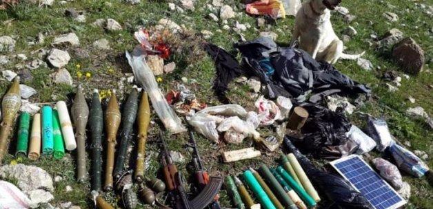 PKK cephaneliği ele geçirildi