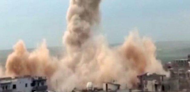 PKK'lılar kaçarken birçok evi ateşe verdi