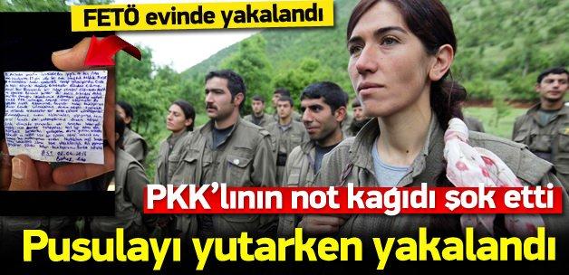 PKK'lının üzerinden çıkan not şok etti!