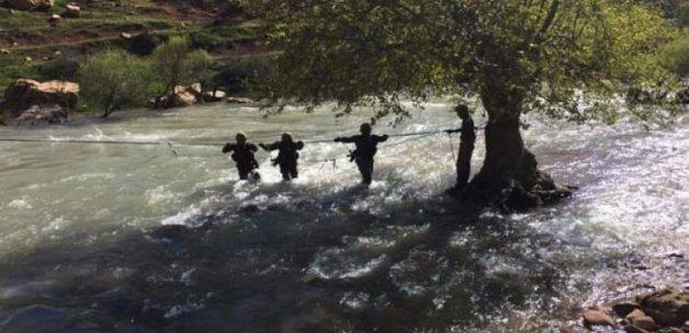 PKK operasyonundan görüntüler yayınlandı