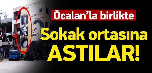 PYD Ankara katliamcısını poster yaptı
