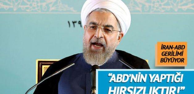 """Ruhani, ABD'ye sert çıktı: """"Bu yutabileceğimiz bir lokma değil"""""""