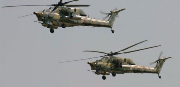 Rus helikopterlerinden hava sahası ihlali
