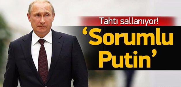 Ruslar yolsuzluktan Putin'i sorumlu tutuyor