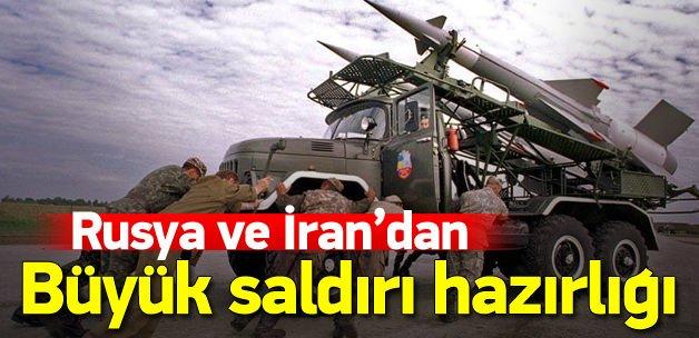 Rusya ve İran'dan ortak operasyon