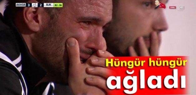 Serdar Kurtuluş hüngür hüngür ağladı!
