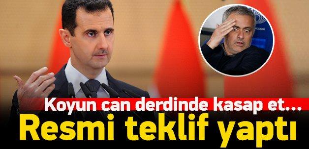 Suriye'den Jose Mourinho'ya resmi teklif
