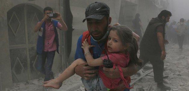 Suriye rejimi Halep'te tıp merkezini vurdu: 5 ölü, 25 yaralı