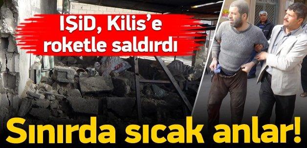 Suriye tarafından ateşlenen füze Kilis'e düştü