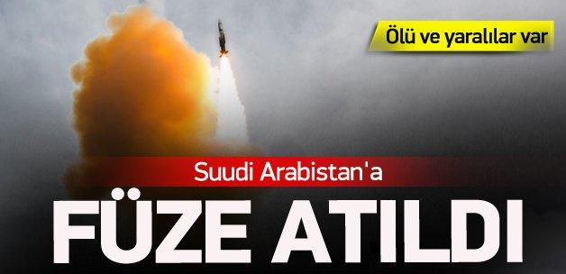 Suudi Arabistan'a füze atıldı