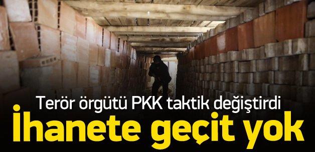 Terör örgütü PKK taktik değiştirdi
