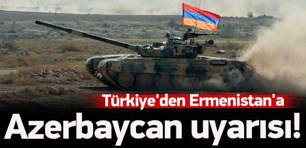 Türkiye'den Ermenistan'a: Son verin