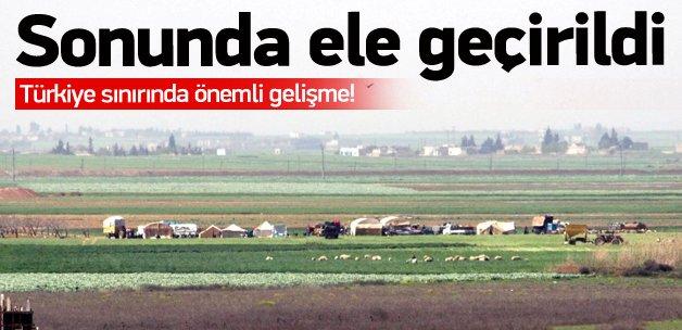 Türkiye sınırında flaş gelişme!