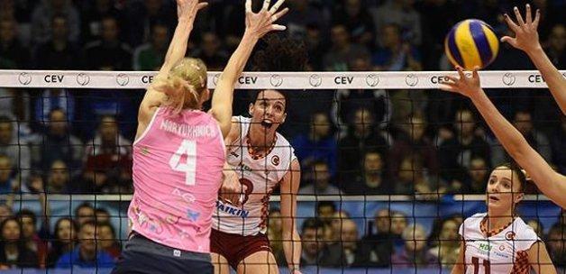 Voleybol Kadınlar CEV Kupası'nda Galatasaray ikinci oldu