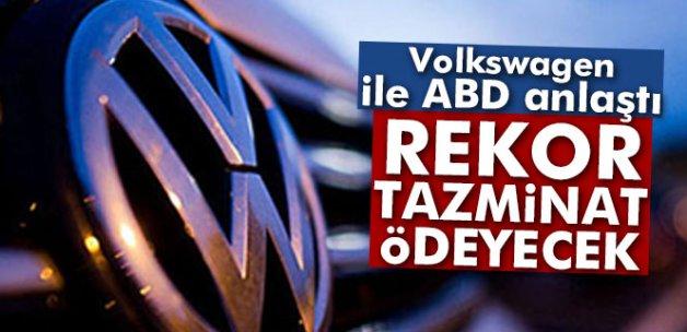 Volkswagen müşterilerine 5'er bin dolar ödeyecek