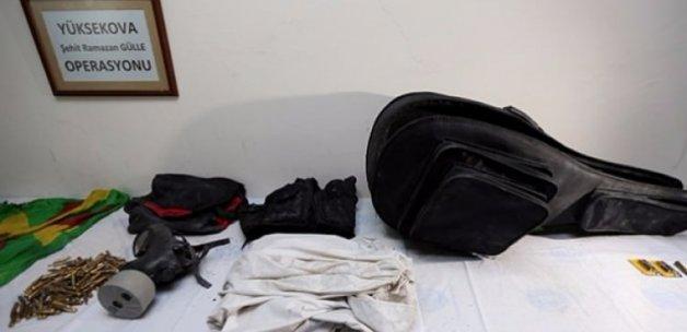Yüksekova'da gitar çantasında bomba düzeneği çıktı