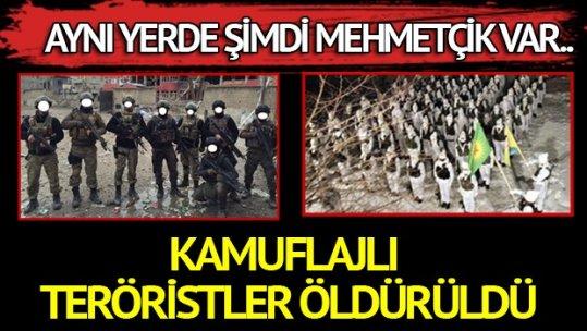 Yüksekova kamuflajlı teröristlerden temizlendi