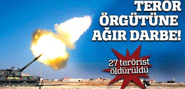 27 DAEŞ'li öldürüldü