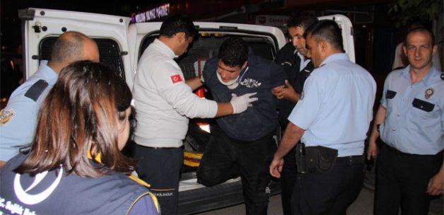 3 dakikada 10 plazma çalan hırsızlar polisten kaçamadı
