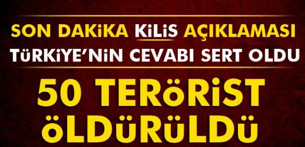 50 IŞİD mensubu öldürüldü