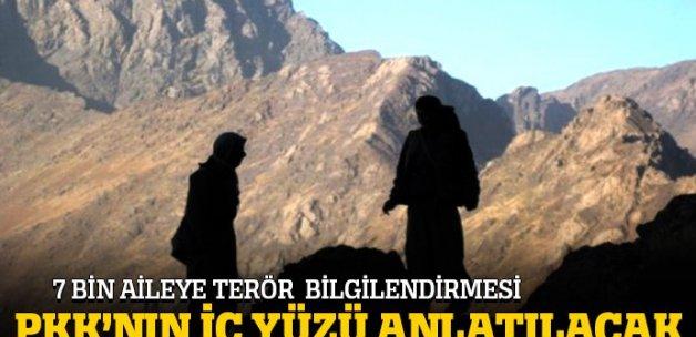 7 bin aileye terör bilgilendirmesi