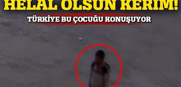 9 yaşındaki Kerim'in İstiklal Marşı hassasiyeti