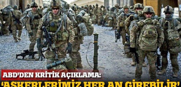 ABD: Askerlerimiz Libya'ya her an girebilir