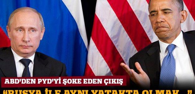 ABD'den PYD'ye 'Rusya' uyarısı