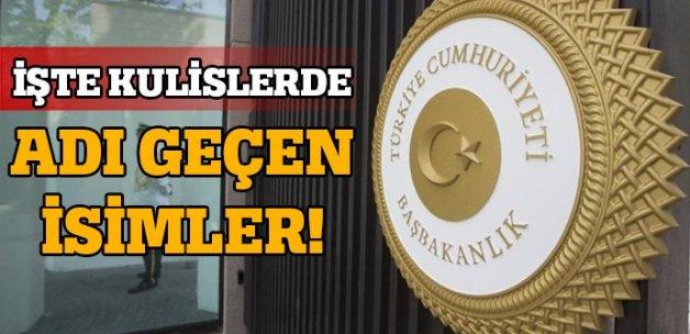 Ahmet Davutoğlu'nun yerine 3 isim konuşuluyor