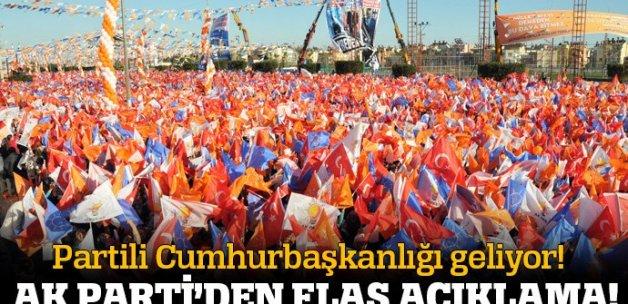 AK Parti'den flaş açıklama