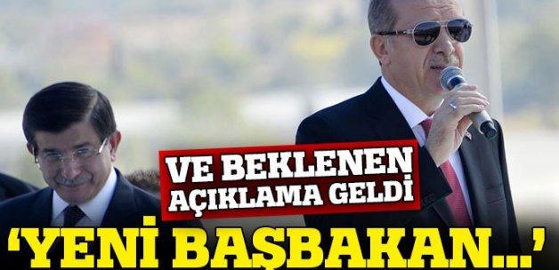AK Parti'den flaş 'yeni Başbakan' açıklaması